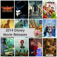 2014: A Big Year for Disney Movies
