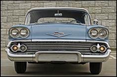1958 Chevrolet Impala Convertible 348 CI, Automatic #Mecum #Kissimmee #WhereTheCarsAre