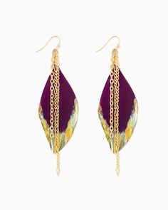 Feather and Fringe Earrings to complete your #bohochic look