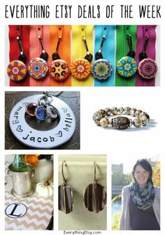 Everything Etsy Deals of the Week — 11/15/2014...time to shop!!!!!!!!! #etsy