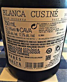 El Alma del Vino.: Parés Baltà Cava Blanca Cusiné Brut Reserva 2010