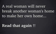 Real Women, Cheating