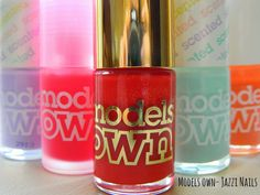 New pin! Models own review talking about the ranges and their latest polish on the way! Don't miss it :)