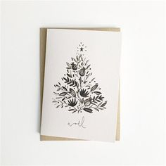 Carte - Sapin de Noël | Buk&Nola