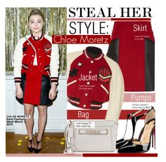 Steal Her Style-Chloe Grace  Moretz by kusja on Polyvore featuring mode, Coach 1941, Coach, Christian Louboutin, PFW, Stealherstyle, fashionWeek, chloemoretz and celebstyle