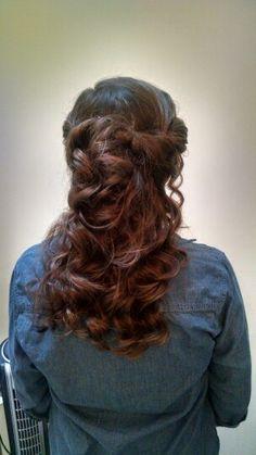 Fairytale wedding hair 2