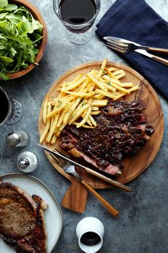Save the recipe! French Steak, Best Dishes, Recipe Of The Day, Spaghetti, Ethnic Recipes, Food, Essen, Meals, Yemek