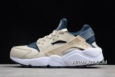 0e5d06af956d WMNS Nike Air Huarache Run Light Orewood Brown Armory Navy-White 634835-114  New Release