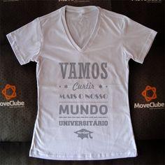 Vamos curtir mais nosso mundo universitário - MoveClube