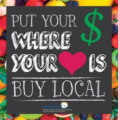 Buy Local by Hailey Bean. Arkadelphia Alliance and Area Chamber of Commerce