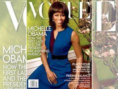 La primera dama estadounidense figura por segunda vez en la tapa de la revista Vogue USA