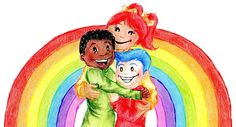 Join The Secret Rainbow Children for a wonderful, uplifting adventure.