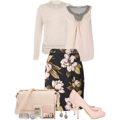 """""""Skirt Outfit"""" by mozeemo on Polyvore"""