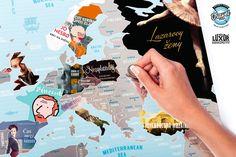 NEOLUXOR: Na cesty se Scratch mapou a knihami