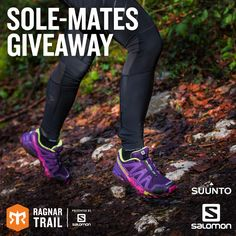 Show your running buddy how much you appreciate them by entering to win 2 free pairs of Salomon shoes, 2 free Suunto watches and 2 individual entries to a Ragnar Trail. Ends August 22nd
