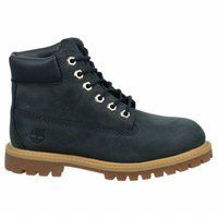"Timberland Infants/Toddlers 6"" Premium Waterproof Boot,Navy Leather,US 4 M. Fit: True to Size. Features of this item include: Back to School, Elementary School, Grade School, School, Winter."