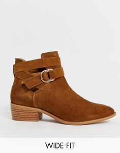 245996e4b7451 Brown Suede, Comfortable Shoes, Ballet Flats, Ankle Boots, Women's Boots,  High. ASOS