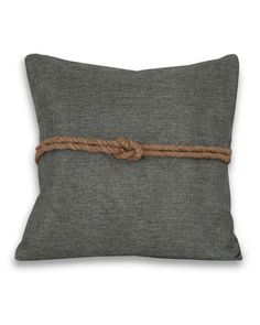 Thro 'Silver Rope' Decorative Pillow