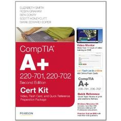 CompTIA A+ 220-701, 220-702 Cert Kit: Video, Flash Card and Quick Reference Preparation Package (2nd Edition) (Cert Kits) (Paperback)  http://goldsgymhours.com/amazonimage.php?p=0789748045  0789748045