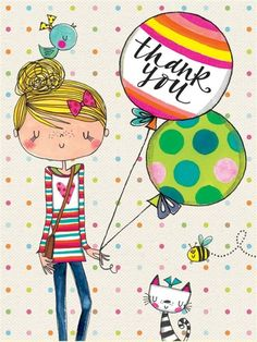 Rachel Ellen Designs is a leading name in the world of greetings card and stationery design. Thank You Images, Thank You Messages, Thank You Notes, Thank You Cards, Happy Birthday Wishes, Birthday Greetings, Birthday Cards, Doodles, Thanks Card