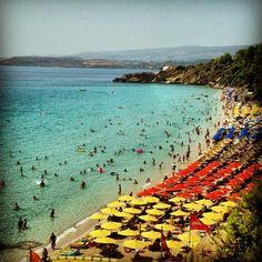Beach of saint Helis at Kefalonia island #kefalonia #sunshineionian #Greece