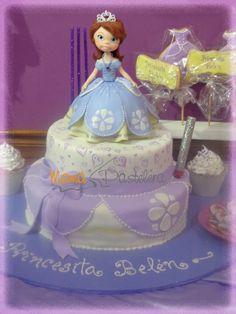 Tortas Princesa Sofia