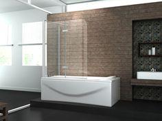 fixe duschwand für badewanne