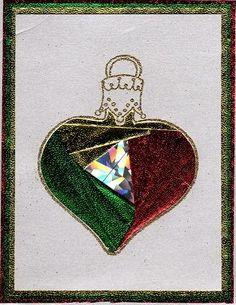 Ornament Iris folding