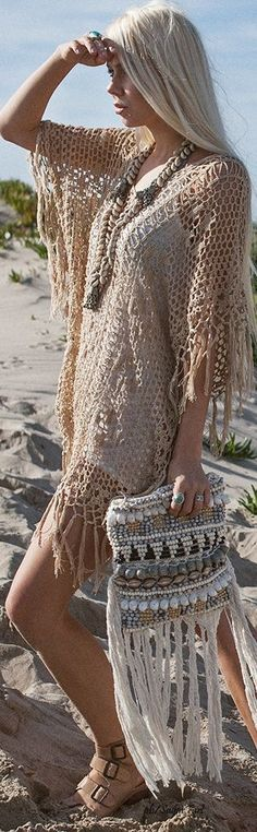 30 + Boho & Gypsy Outfit Ideas For Summer ❤️:: boho fashion :: gypsy style :: hppie chic :: boho chic :: outfit ideas :: boho kimono :: free spirit :: fashion trend :: embroidered :: flowers :: floral :: lace :: summer :: fabulous :: love :: street style :: fashion style :: boho style :: bohemian :: modern vintage :: ethnic tribal