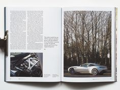 5054 is a new car magazine, or more accurately, a new magazine about automotive culture. Its uncoated stock, liberal use of illustration instead of the standard high-gloss car photography that dominates most titles in the sector signal that this is an attempt to apply the aesthetics of the independent magazine culture to a sector that in the past has been dominated by gloss and testosterone