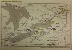 oneida indian tribe of canada | Iroquois World in 1812 | Native Heritage Project