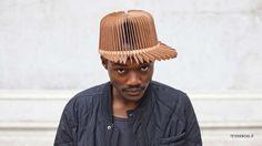 Popsicle Stick Hats - The Tete De Bois by Andrea Deppieri is an Alternative Streetwear Design (GALLERY)