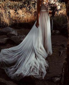"b6a97c204b5f Daily Wedding Dress Inspo 💍✨ on Instagram  ""Today was a fairytale ✨ Blown"