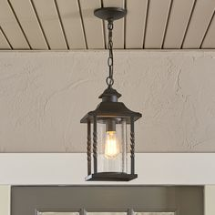 Found it at Wayfair - Barrow Outdoor Hanging Lantern