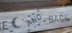wood sign tutorial (using printer)