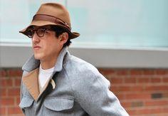 Fashion Week Fall 2012 - Men's Street Style Hats