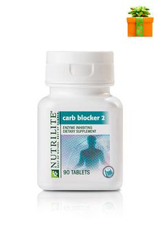 Block up to 500 calories per high-carb meal. Item #: 100193 http://www.amway.com/NainaHussain/Shop/Product/Product.aspx/Nutrilite-Carb-Blocker-2?itemno=100193