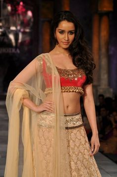 Shraddha Kapoor in Manish Malhotra on IndianWeddingSite.com