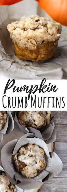 Pumpkin Crumb Muffin