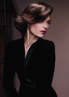 coiffure pour mariage cheveux mi-longs Dessange http://salon.dessange.com/thonon/