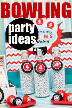 Bowling Party.  Throw a convenient party at a bowling alley where you won't have to spend the rest of the day cleaning up after the party's over.  Make it special with some of these party ideas.