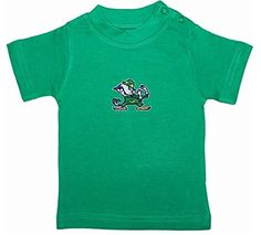 Notre Dame Fighting Irish Green NCAA College Newborn Baby TShirt Tee 03 ** Visit the image link more details.
