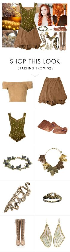 """""""Serenity"""" by angelicdemon479 on Polyvore featuring Alice + Olivia, Aftershock London, Topshop, Annette Ferdinandsen and Monserat De Lucca"""