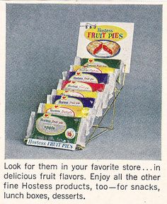 Hostess Fruit Pies Ad 1968