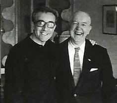 Peter Sellers and Stan Laurel.