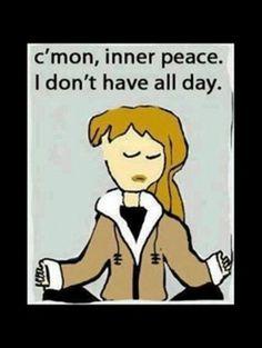 Hurry Inner Peace