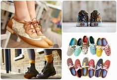 Hipster Girl - oxfords, keds, converse o botas