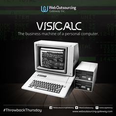 VisiCalc, the business machine of a personal computer.
