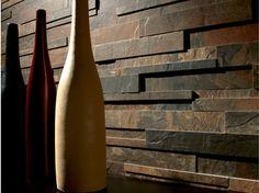 Revestimiento de pared de gres porcelánico SLATES   Revestimiento de pared imitación piedra - Ceramica Fioranese