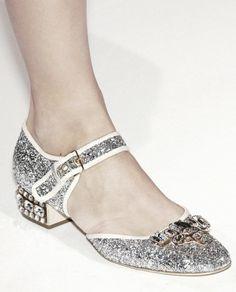 Miu Miu shoes sparkle mary janes